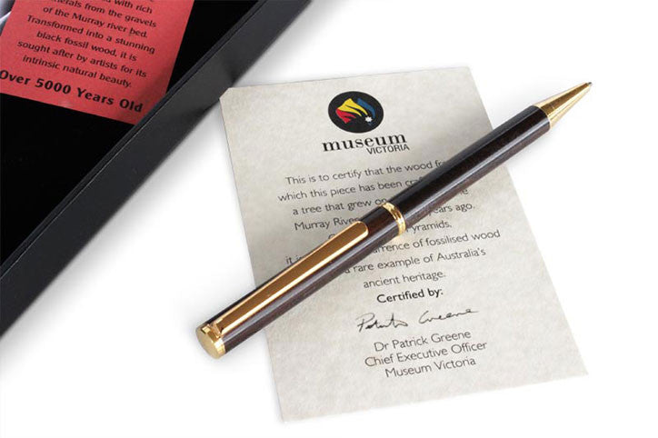 Ancient Redgum Slimline Pen