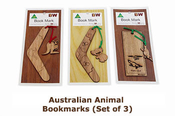 Australian Animal Bookmarks (Set of 3)