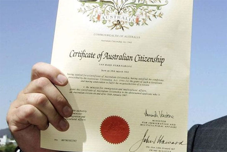 Do You Know Someone Who Has Just Become An Australian Citizen