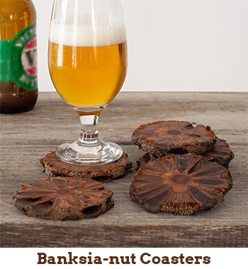 Banksia-nut Coasters