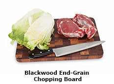 Blackwood End-Grain Chopping Board