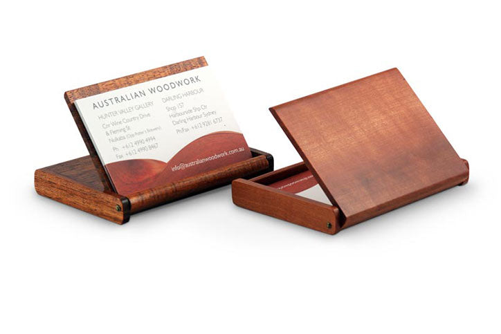 Flip-Top Business Card Holder