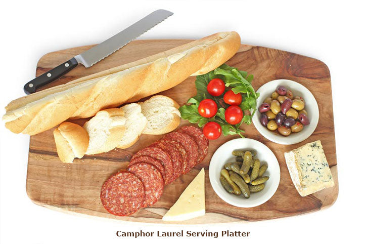 Camphor Laurel Serving Platter