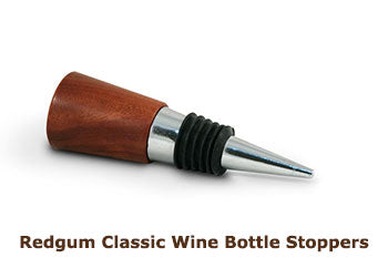 Redgum Classic Wine Bottle Stoppers