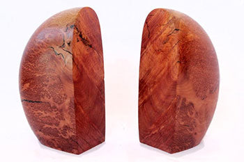 Coolibah Burl Bookends