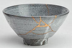 Cracked Ceramic Bowl