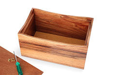 Open Cremation Ashes Box