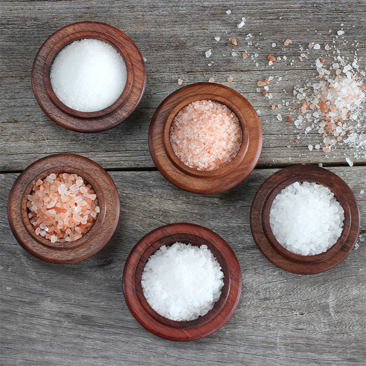 Different types of salts