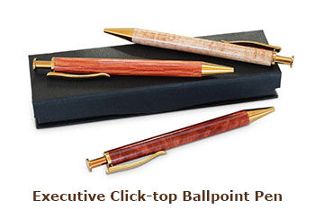 Executive Click-top Ballpoint Pen