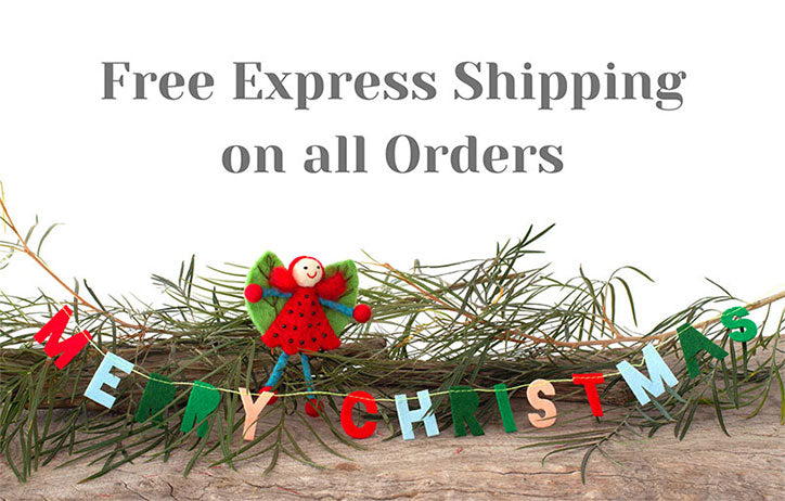 Free Express Shipping on all Orders