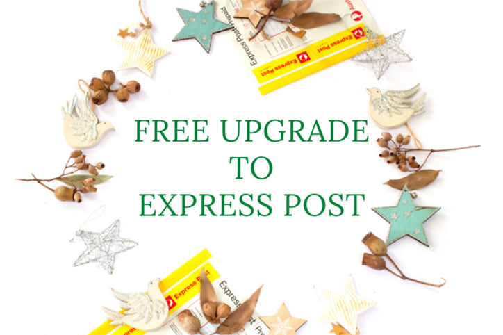 Free Upgrade to Express Post