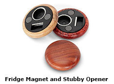 Fridge Magnet and Stubby Opener