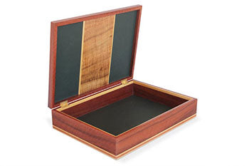 Garrick Document Box, Jarrah and Blackwood