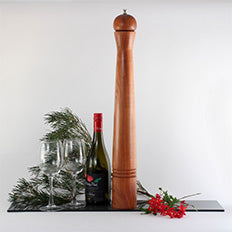Giant Orb Blackwood Pepper Mill