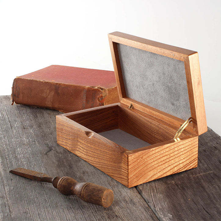 Harris White Cedar Jewellery Box