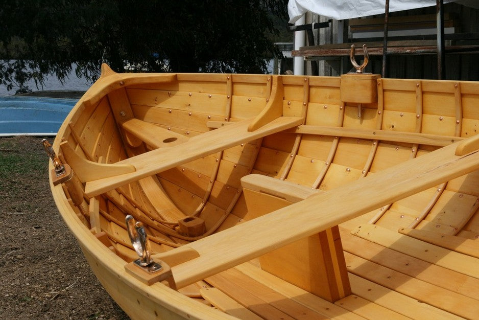 Boat made from Huon Pine