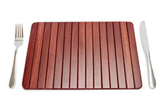 Jarrah Roll-Up Placemats