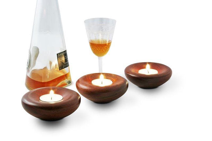 Jarrah Tea Light Candle Holder