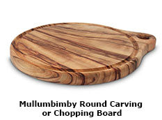 Mullumbimby Round Carving or Chopping Board