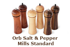 Orb Salt & Pepper Mills Standard
