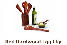 Red Hardwood Egg Flip