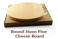 Round Huon Pine Cheese Board