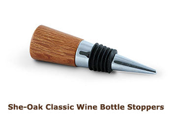 She-Oak Classic Wine Bottle Stoppers