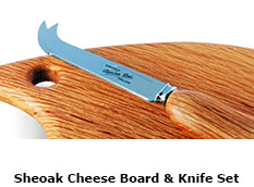 Sheoak Cheese Board & Knife Set