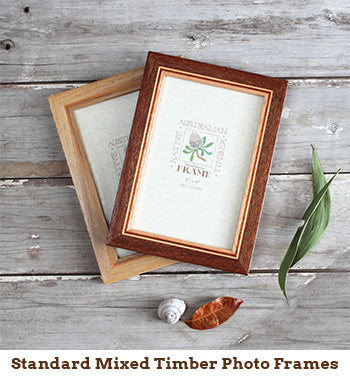 Standard Mixed Timber Photo Frames
