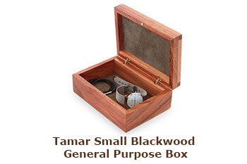 Tamar Small Blackwood General Purpose Box