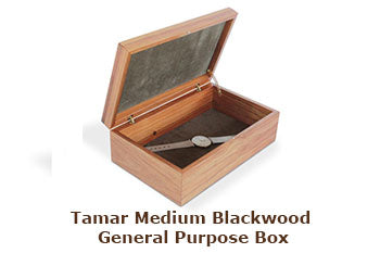 Tamar Medium Blackwood General Purpose Box