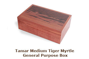 Tamar Medium Tiger Myrtle General Purpose Box