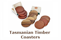 Tasmanian Timber Coasters