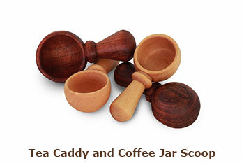 Tea Caddy and Coffee Jar Scoop