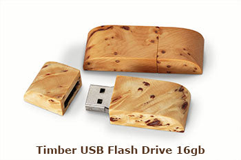 Timber USB Flash Drive 16gb