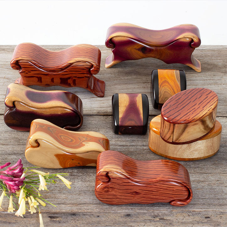 Trinket Boxes in gorgeous native timbers