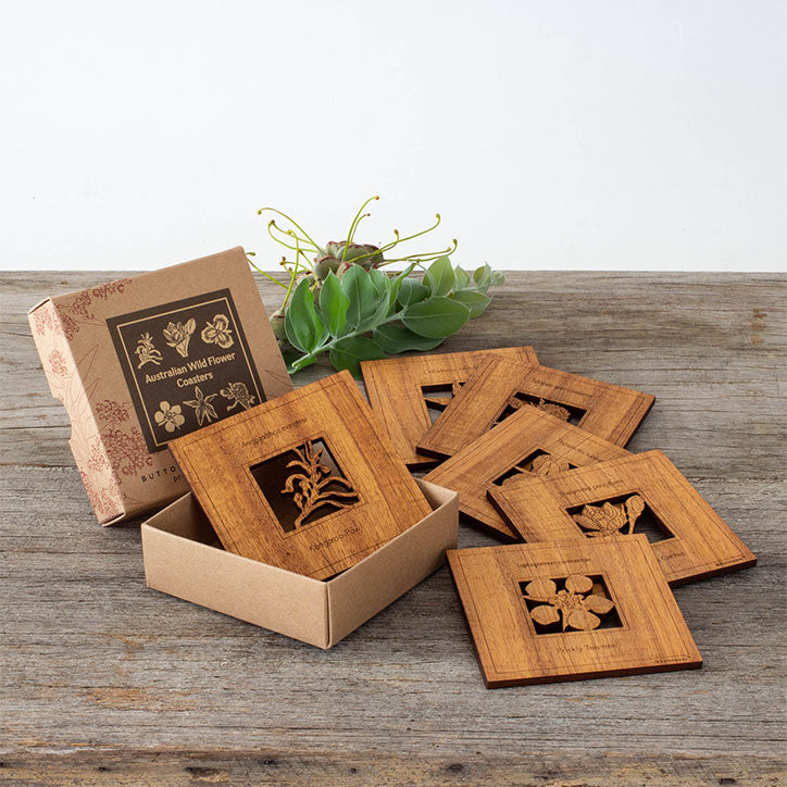 Wildflower Coasters