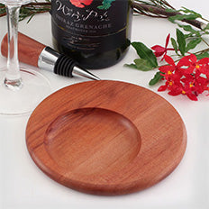 Wine Bottle Coaster, Huon Pine Or Tasmanian Myrtle