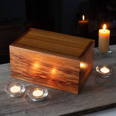 Cremation Ashes Box Blackwood