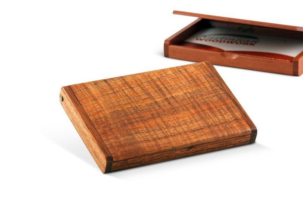 Buy Flip Top Business Card Holder Australian Woodwork