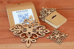 Gift Bundle: Knot Trivet & Matching Coasters