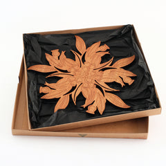 Gum Leaf Cut-Out Pot Stand