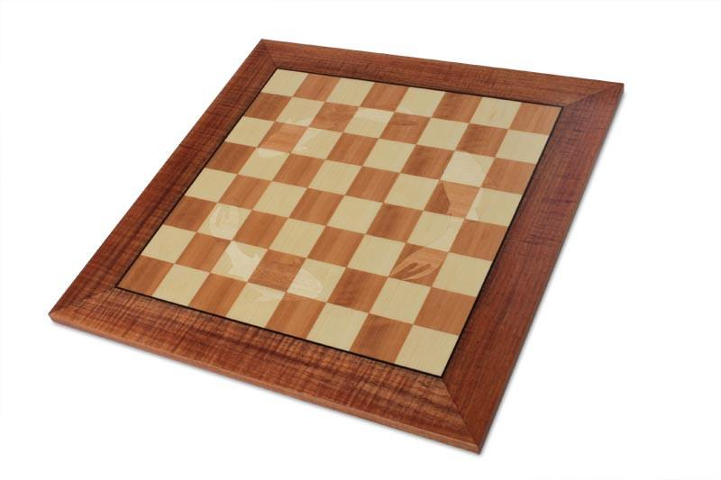 Picture of a Koi Chess Board on white background