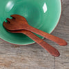 Raffan Salad Servers, Huon Pine or Blackwood