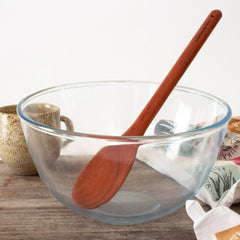Red Hardwood Kitchen Spoon