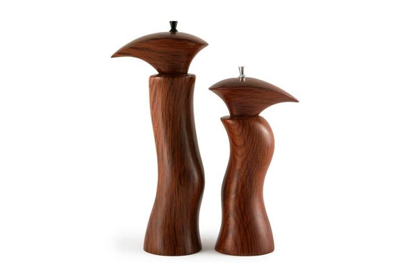Handmade Sculptured She Oak Salt Amp Pepper Mills Online
