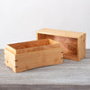 Silky Oak Cremation Ashes Box