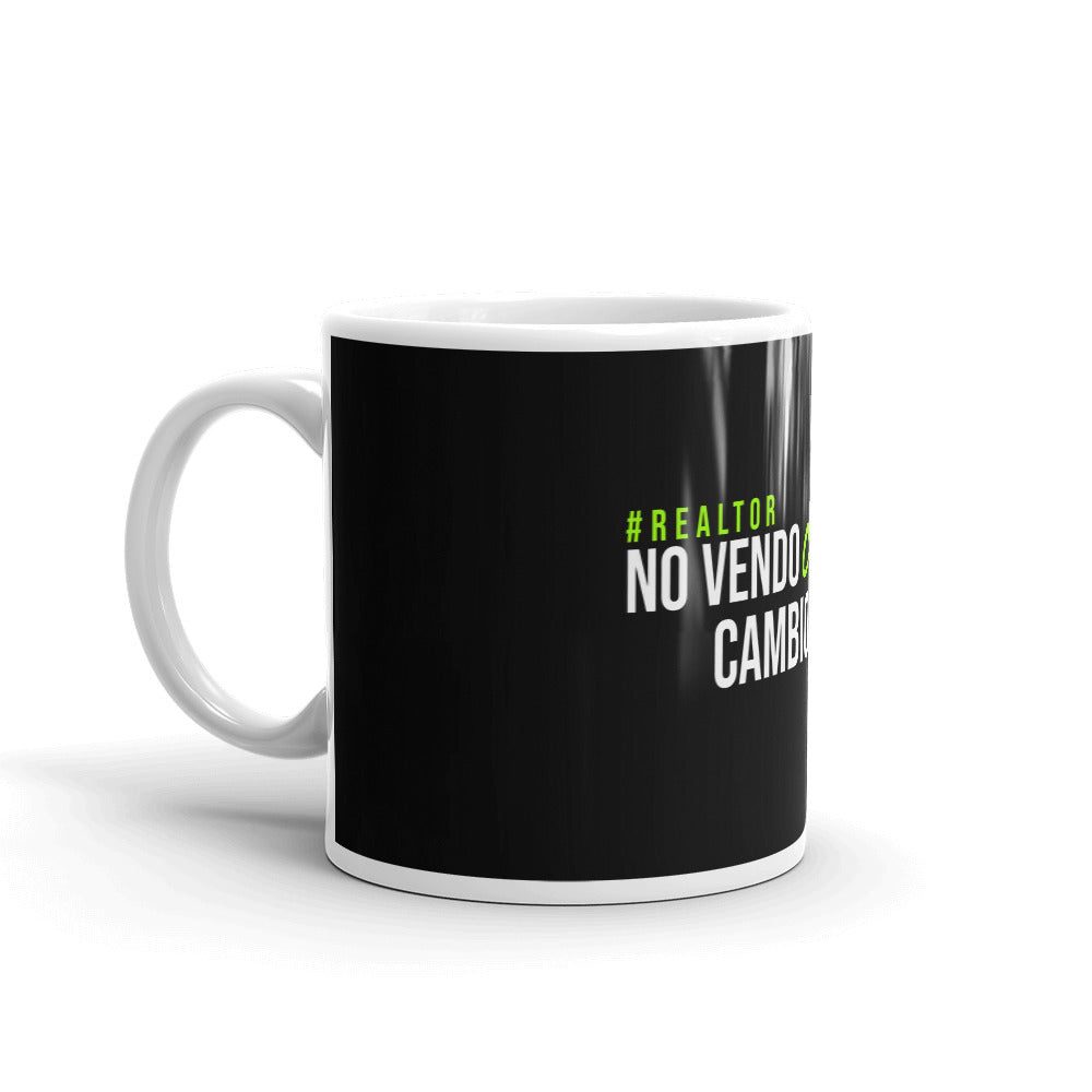 Taza No vendo casas