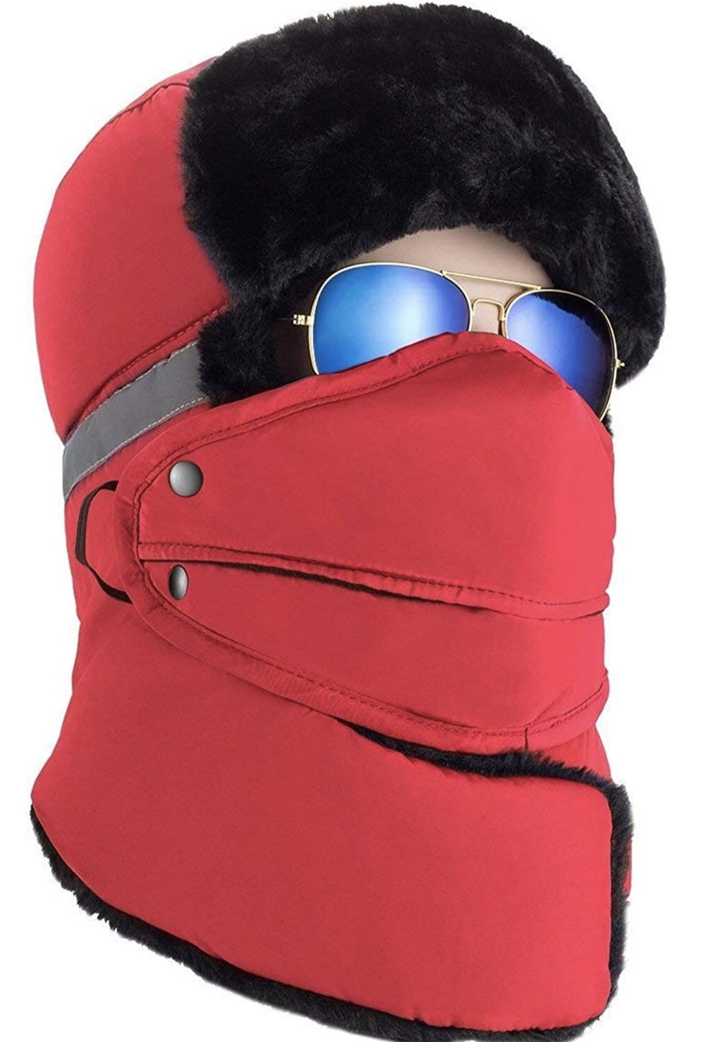 Winter Warm Trapper Hat with Neck Warmer and Mask