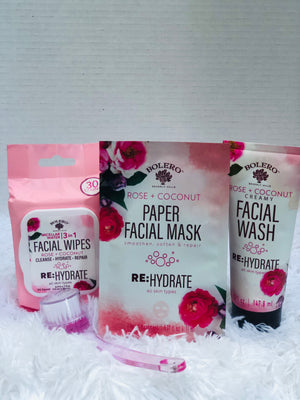 The Facial Box, Everything You need For Your Facial and More! 6-Piece Assorted Box